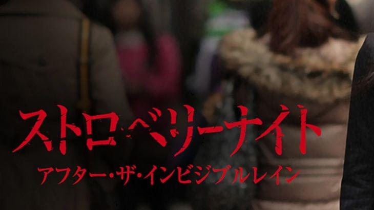 ドラマ【ストロベリーナイト アフター・ザ・インビジブルレイン】を無料フル視聴する方法